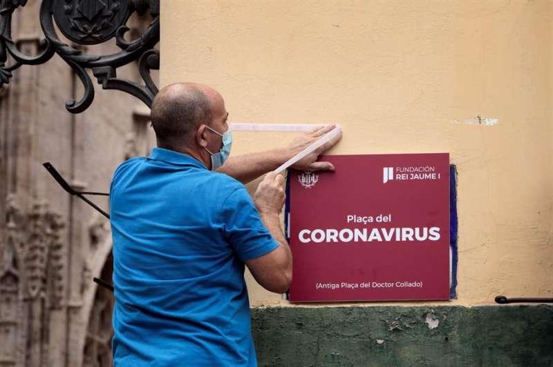 Plaza del Coronavirus. EFE