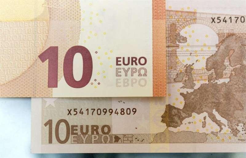 Billete de 10 euros. EFE/Archivo