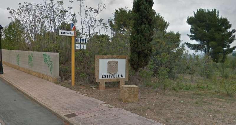 Entrada de Estivella