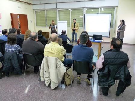 Algunos de los participantes del Plan de Empleo en Benetússer.