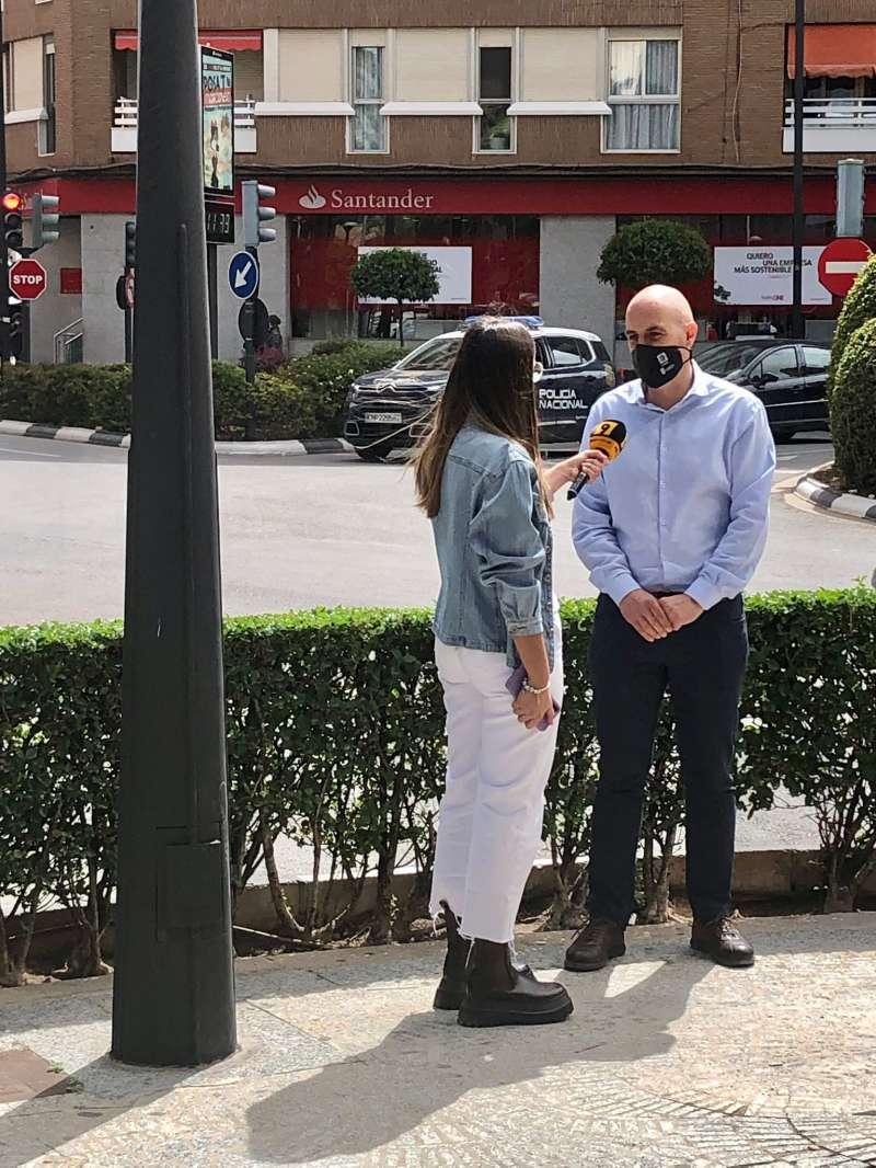 Concejal de Movilidad y Transporte, Raúl Claramonte.