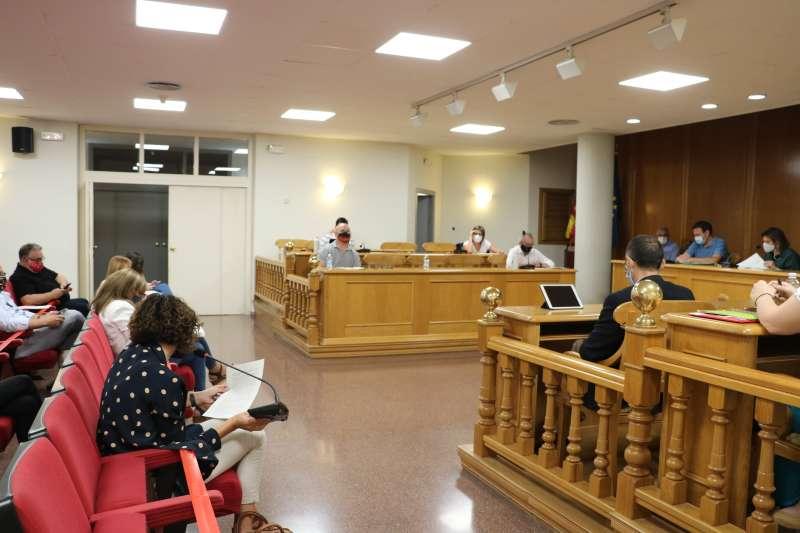 Pleno del ayuntamiento de Quart de Poblet