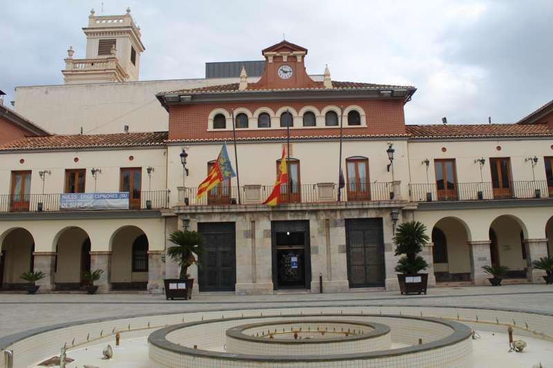 El Ayuntamiento de Nules, foto facilitada por el consistorio.