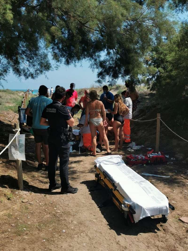 Operación de salvamento/EPDA