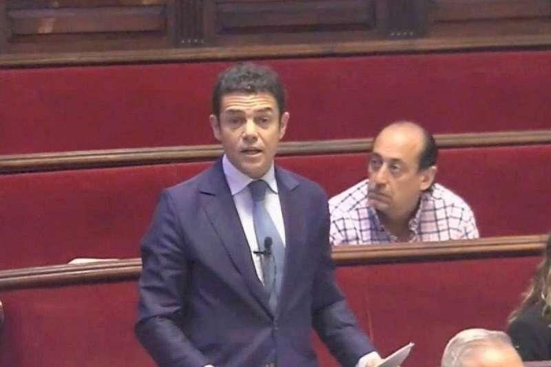 El concejal del Grupo Popular, Carlos Mundina