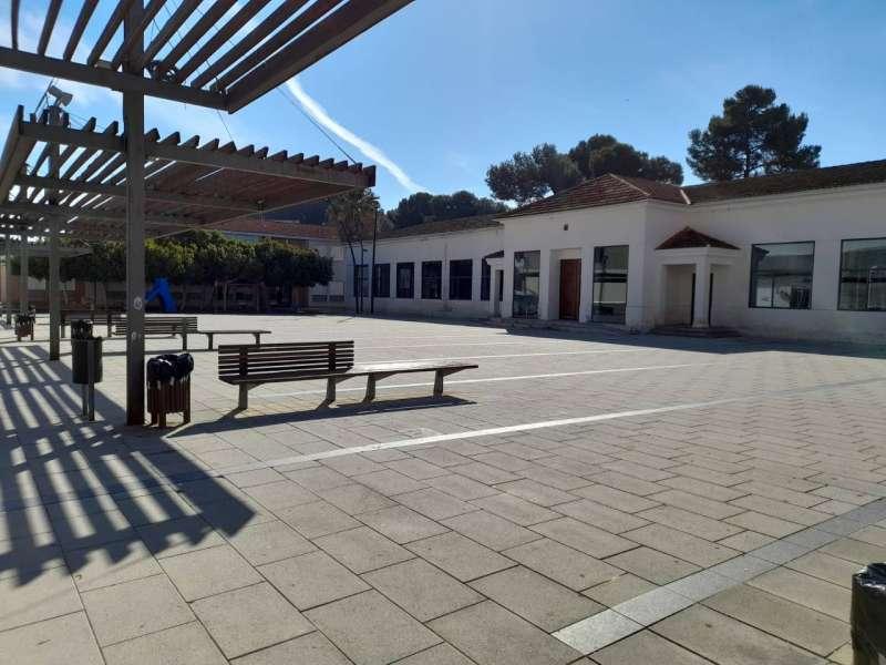 Plaça de la Generalitat de Guadassuar./EPDA
