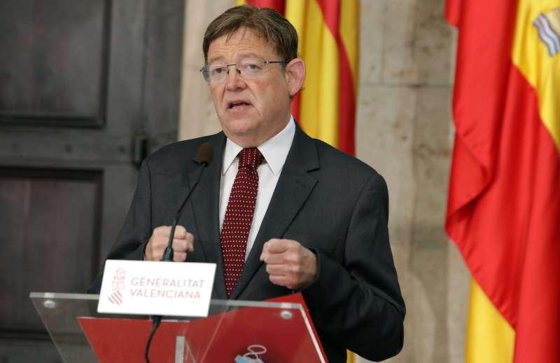 Imagen de archivo del president Ximo Puig.
