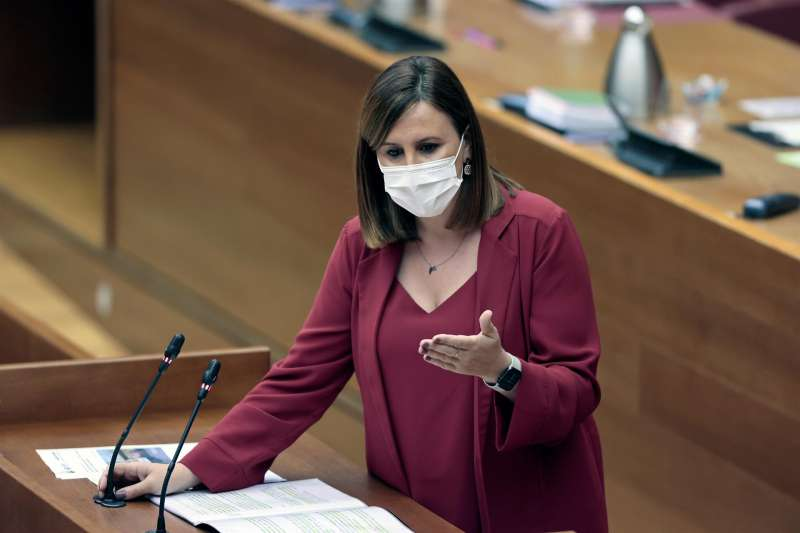 La portavoz del PP en Les Corts, María José Catalá.