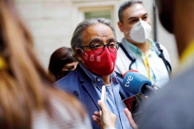 El síndic del grupo parlamentarios del PSPV-PSOE, Manolo Mata. EFE