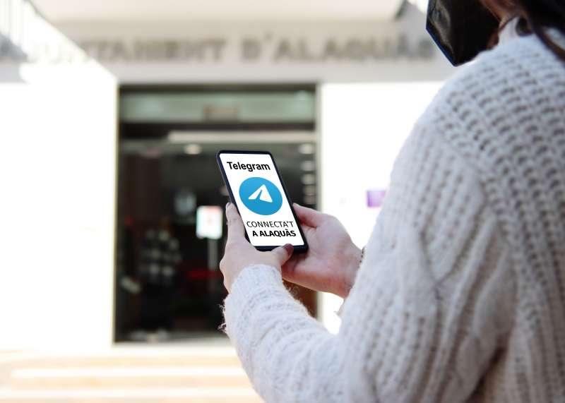 Aplicació de telegram