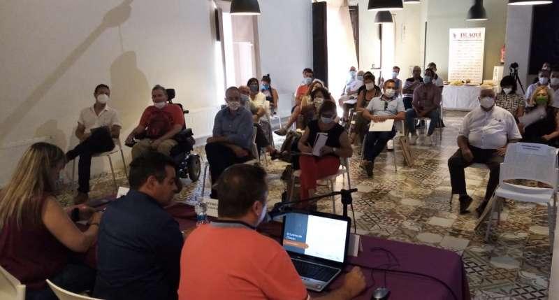 Un instante durante las III Jornadas de Turismo Camp de Túria. EPDA