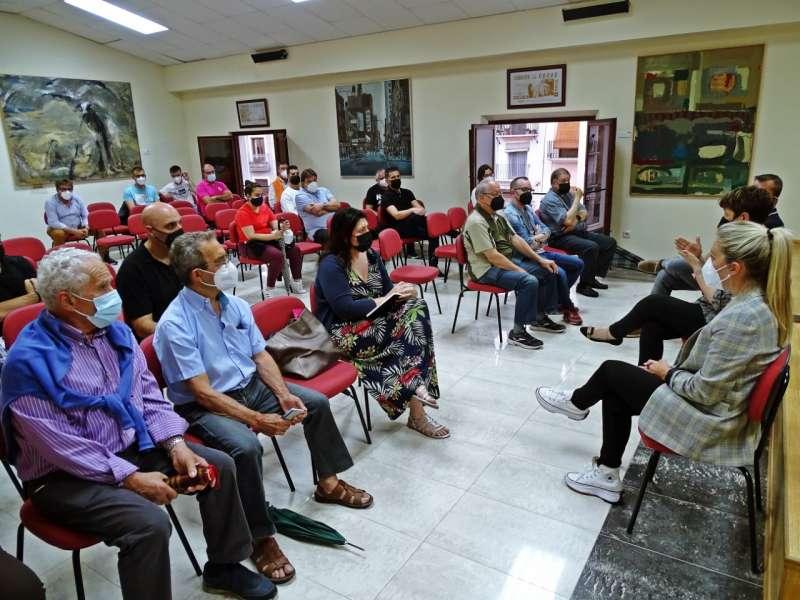 La reunión se celebró en la Sala de los alcaldes