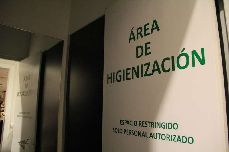 Área de higienización. EPDA