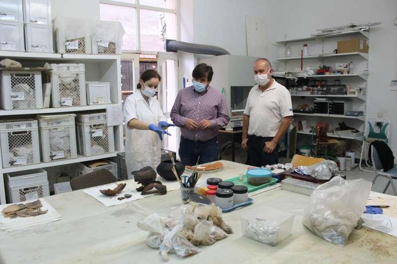Nuevas piezas restauradas para el Museo