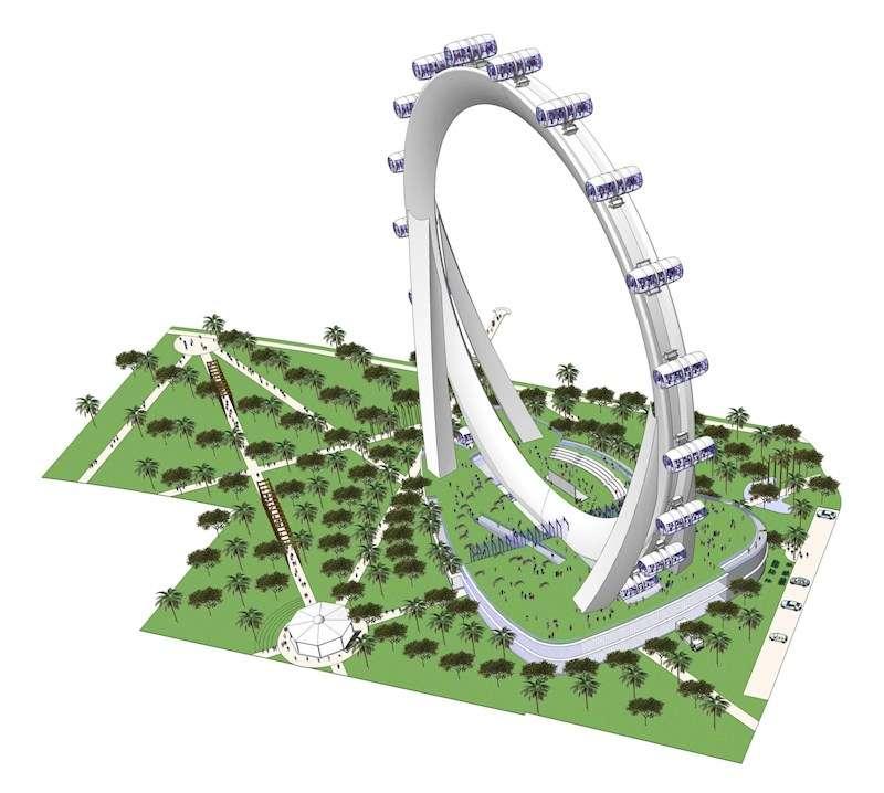 Una imagen del proyecto, facilitada por los promotores del mismo. EFE