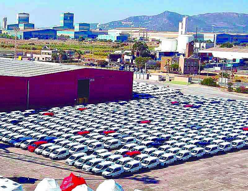 Terminal de vehículos.