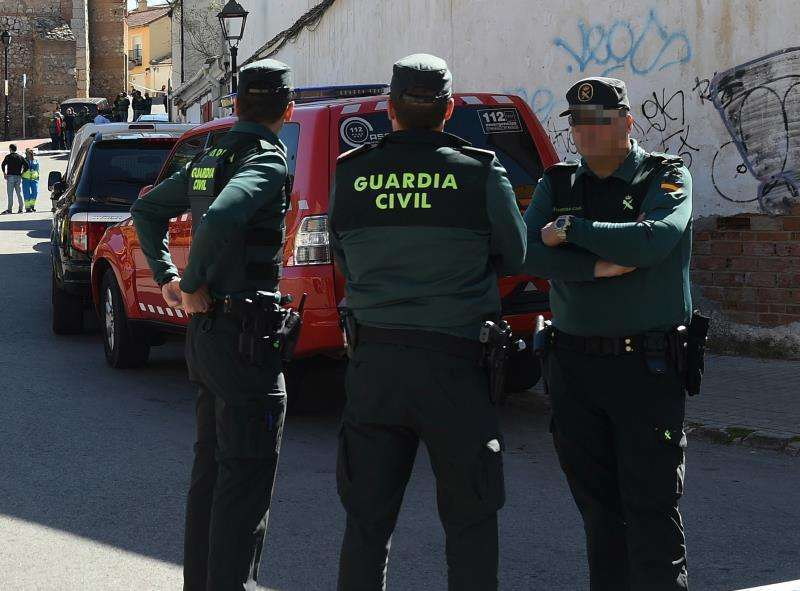 Efectivos de la Guardia Civil. / EPDA