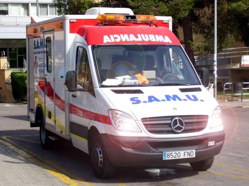 Ambulancia del SAMU. / EPDA