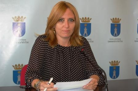 La portavoz municipal, Elena Vicente-Ruiz. Foto EPDA