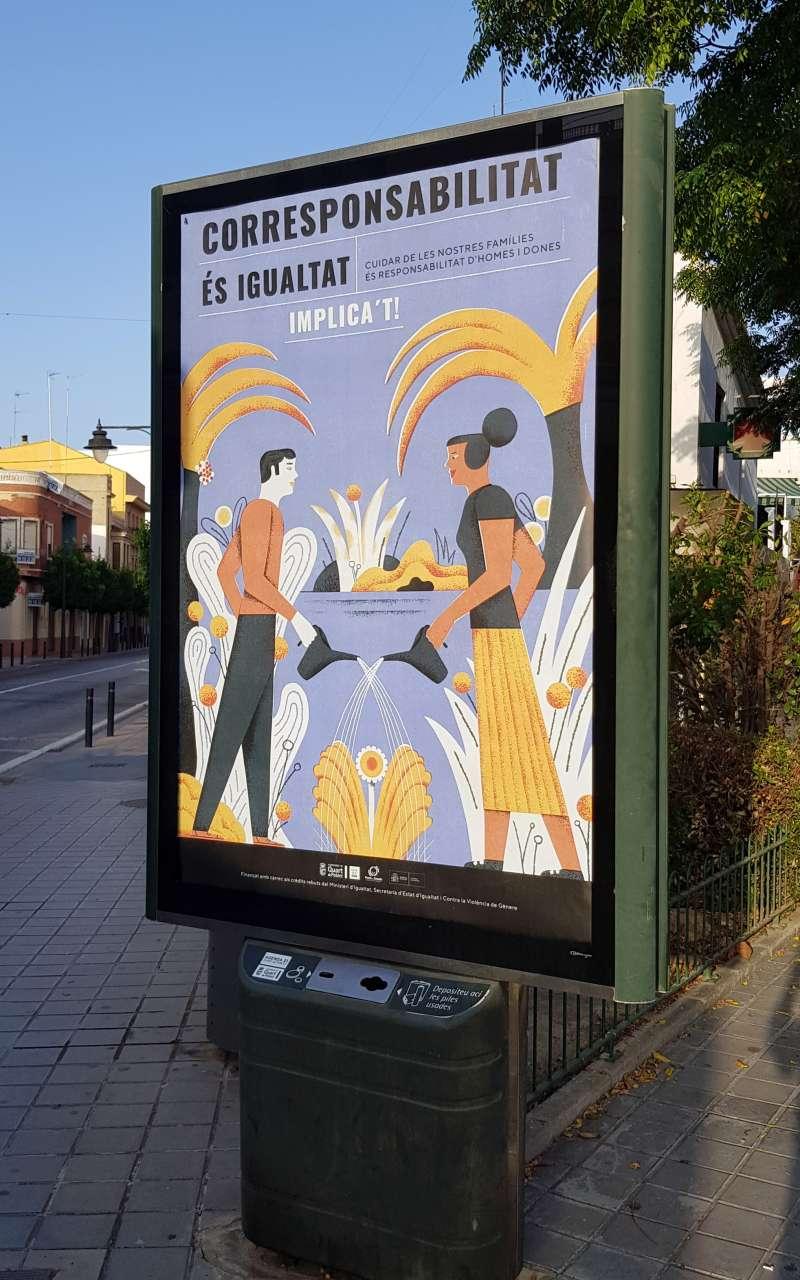 Uno de los carteles de la campaña. EPDA