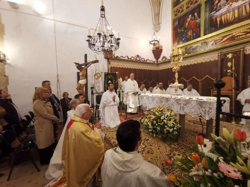 Una misa en Llutxent. B. B.