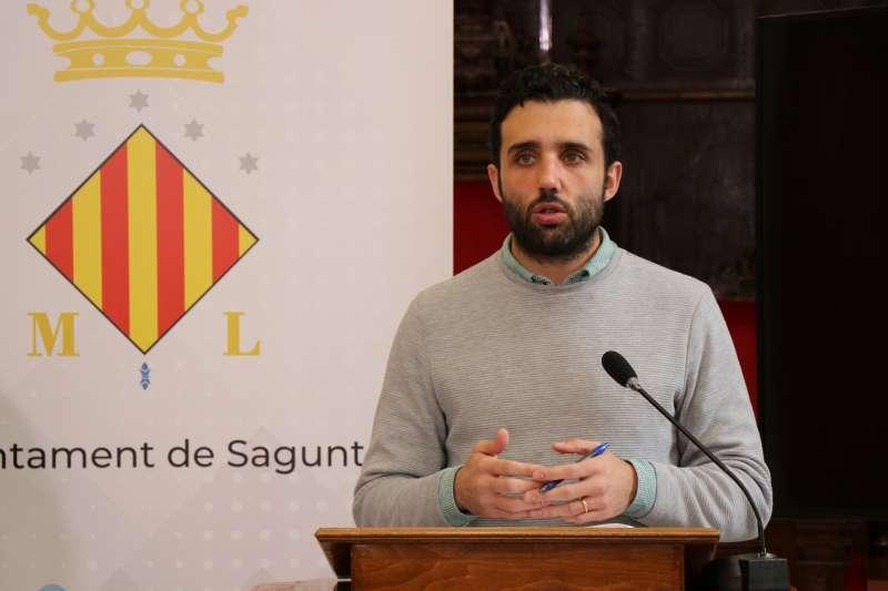 El alcalde Darío Moreno en una comparecencia.