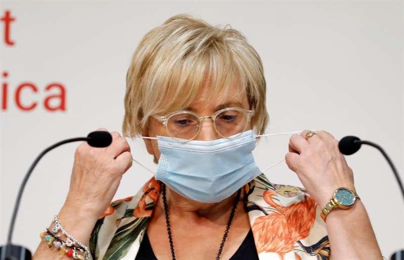 La consellera de Sanidad,, Ana Barceló. EFE