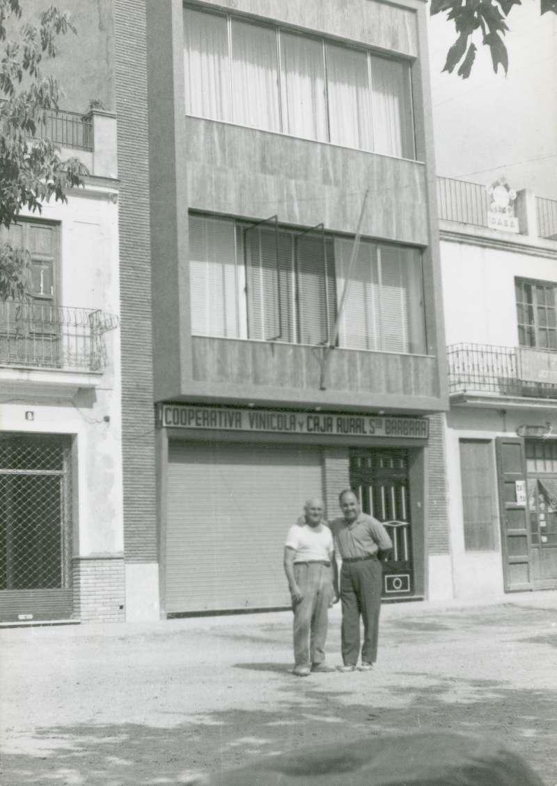 Baltasar y Juan José en la Plaza. / Archivo JSM