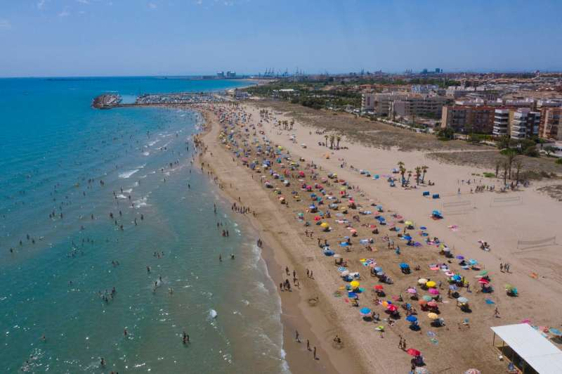 Playa Racó de Mar de Canet d