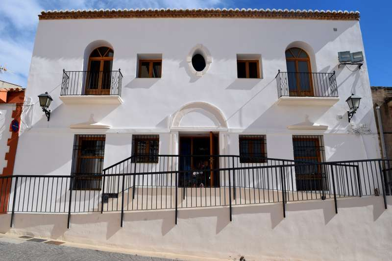 Biblioteca de Vilamarxant. / EPDA