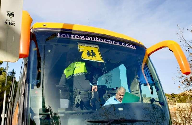 Transporte escolar en Sagunt. EPDA