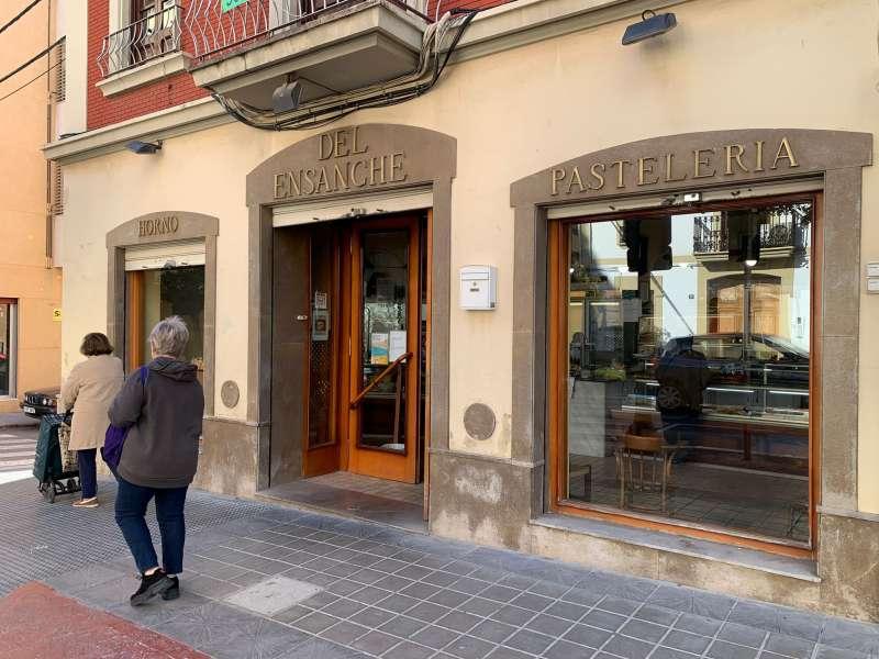 Una panadería de Paterna
