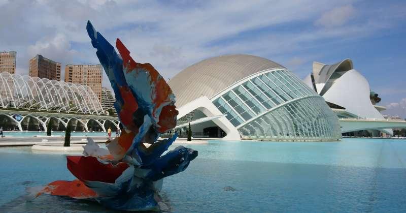 Una de las obras en Valencia