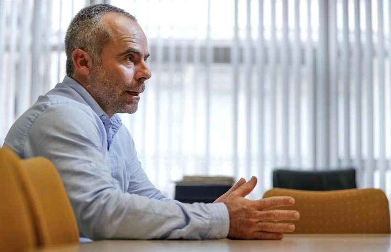El secretario general de La Unió de Llauradors i Ramaders, Carles Peris, en una imagen de archivo.EFE/ Manuel Bruque