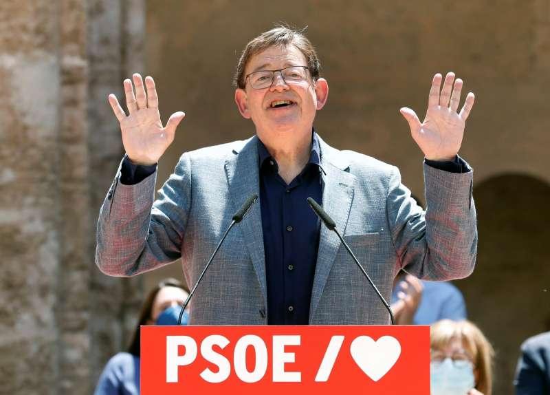 El secretario general del PSPV y president de la Generalitat, Ximo Puig, en un acto reciente.