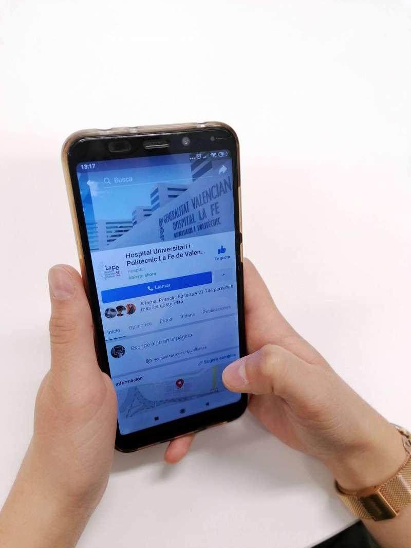 El Hospital La Fe de València aumenta su actividad en redes sociales. EPDA