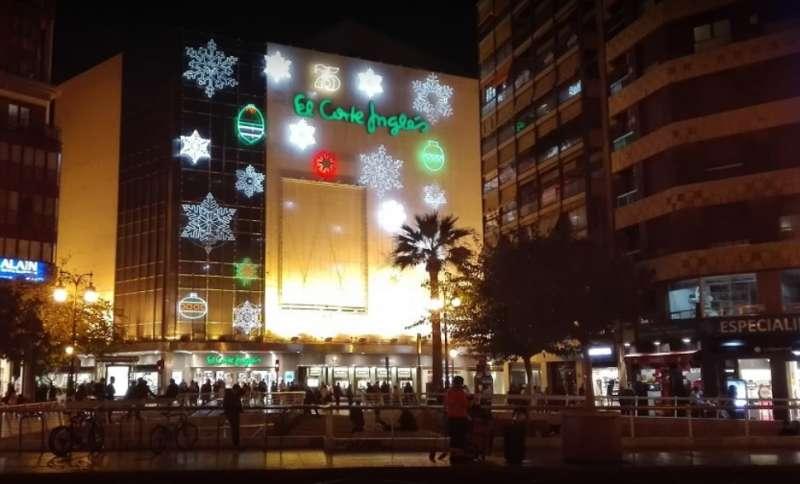El Corte Inglés de la Plaza Colón de València. EPDA