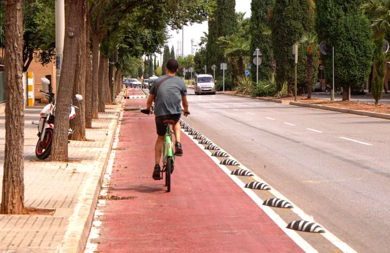 Carril bici/EPDA