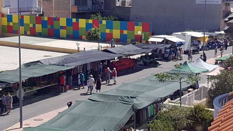 Mercado de Altura en su nueva ubicación
