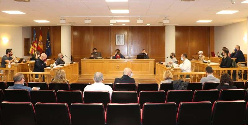 Pleno en el Ayuntamiento de Quart de Poblet.