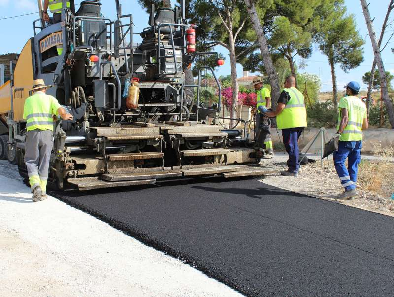 Asfaltado de caminos rurales/EPDA