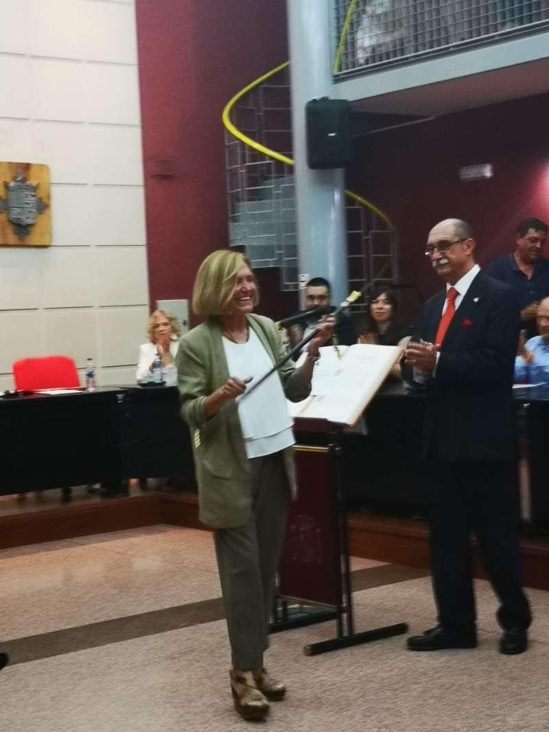 Alcaldesa de Bétera, Elía Verdevío
