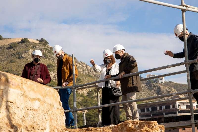 Rehabilitació Torre Octogonal del Castell de Cullera./EPDA