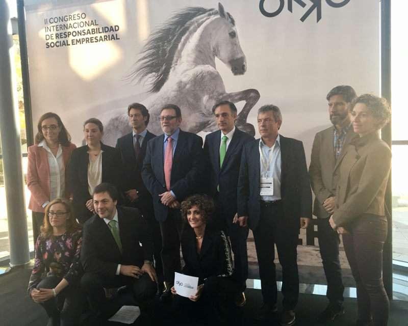 Participantes en el II Congreso Internacional de Responsabilidad Social OKKO, celebrado en Torrent