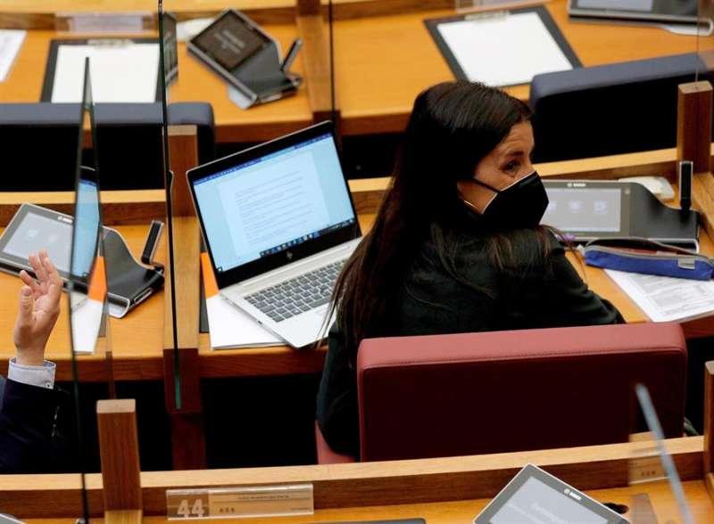 La portavoz adjunta del Ciudadanos, Ruth Merino. EFE