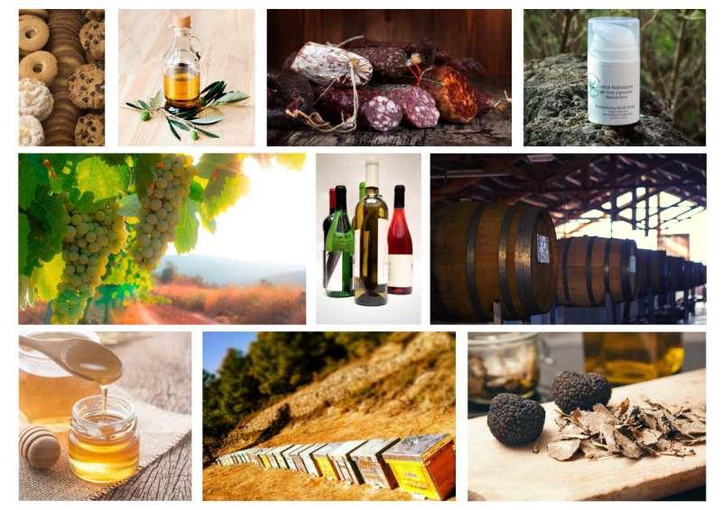 Productos típicos de Alto Turia. / EPDA