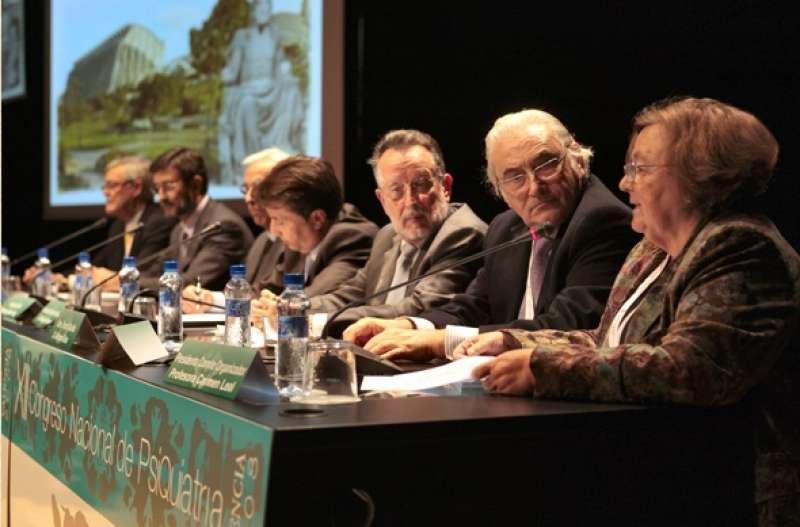 Carmen Leal durante un Congreso de Medicina. EPDA.