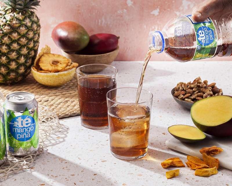 Nuevo té de mango y piña de Mercadona