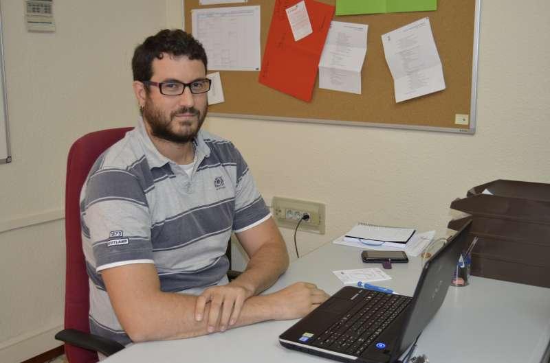 El concejal de Actividades, Guillermo Sampedro. EPDA