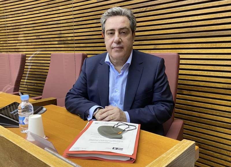 José María Llanos presidente de Vox en las Cortes Valencianas